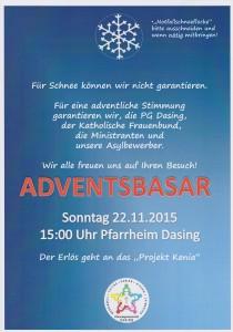 Plakat-Adventbasar